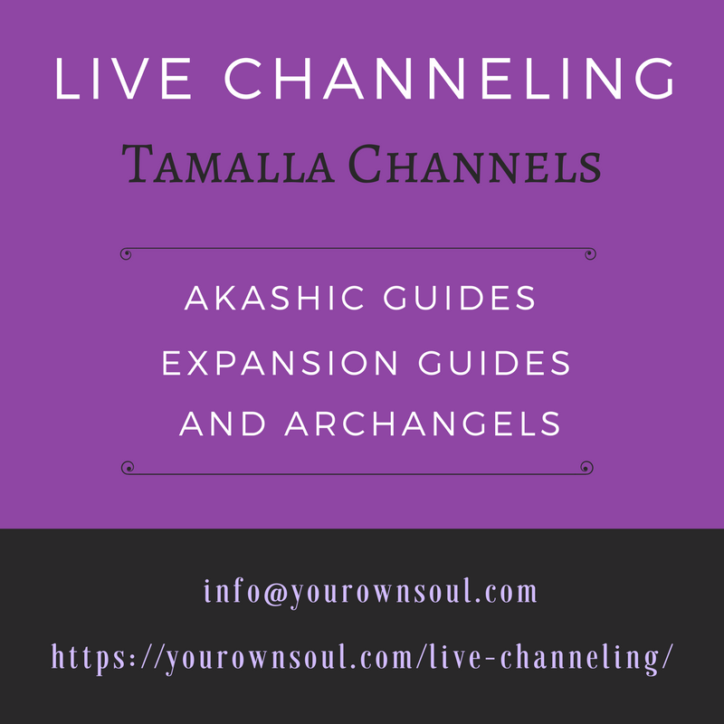 live channeling